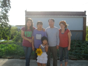 My first wwoof host family.