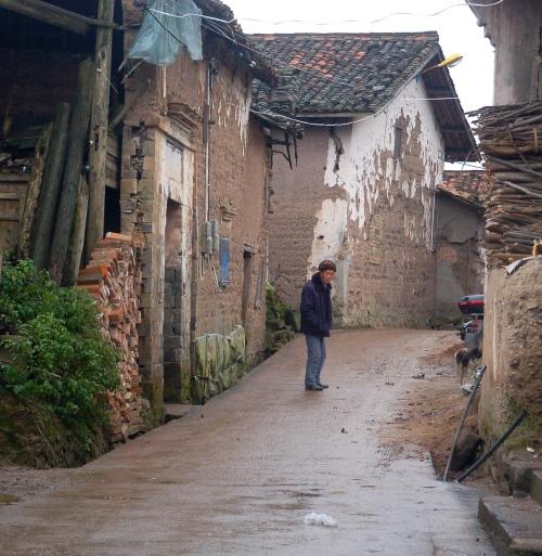 Lone man - street